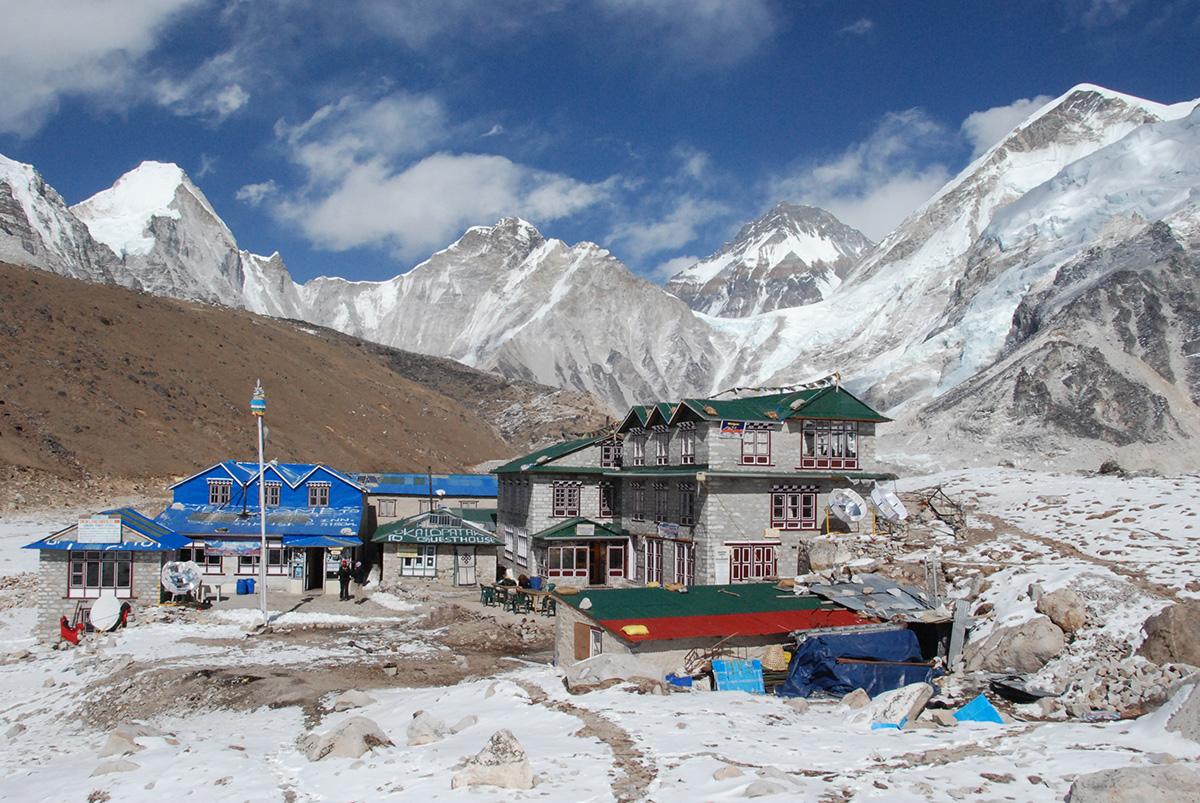 Gorak Shep, Khumbu, Nepal